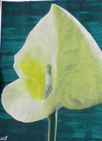 Malerei, Calla