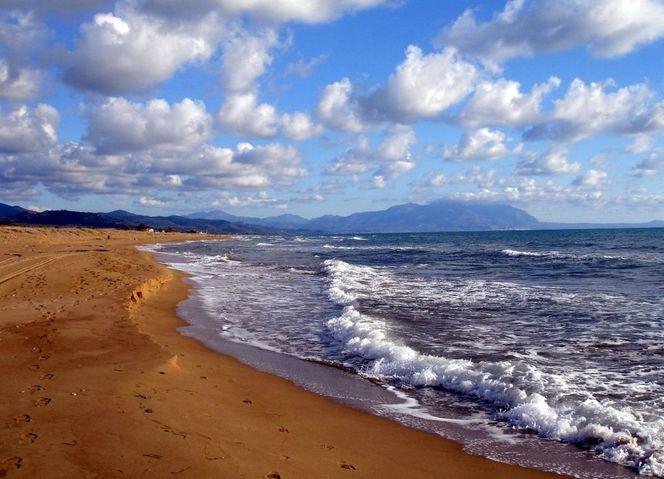 Wolken, Strandwanderung1, Meer, Griechenland, Sand, Fotografie