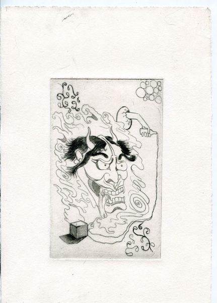 Druck, Kupferstich, Zeichnungen, Natur, Eu