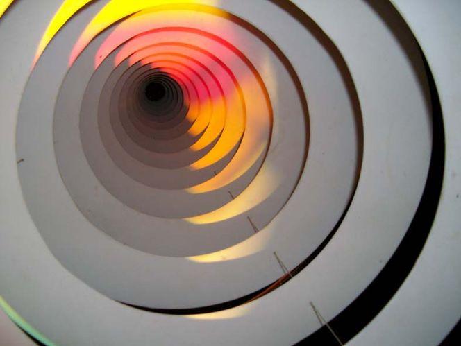 Gegenwart, Blick, Spirale, Zukunft, Fotografie, Tunnel