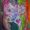 Frau, Farbreisen, Mythologie, Körperlichkeit