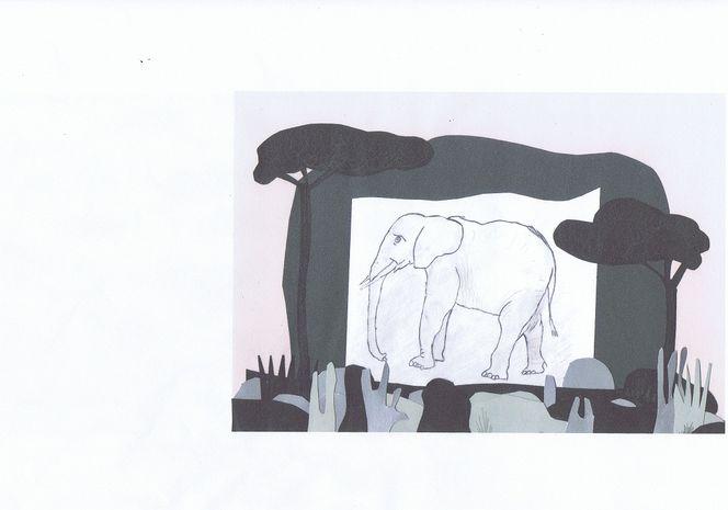 Zeichnungen, Wüste, Afrika