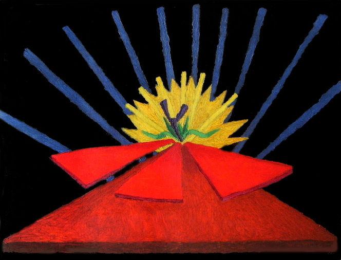 Abstrakt, Synästhesie, Ölfarben, Malerei, Ausstellung, Promenade