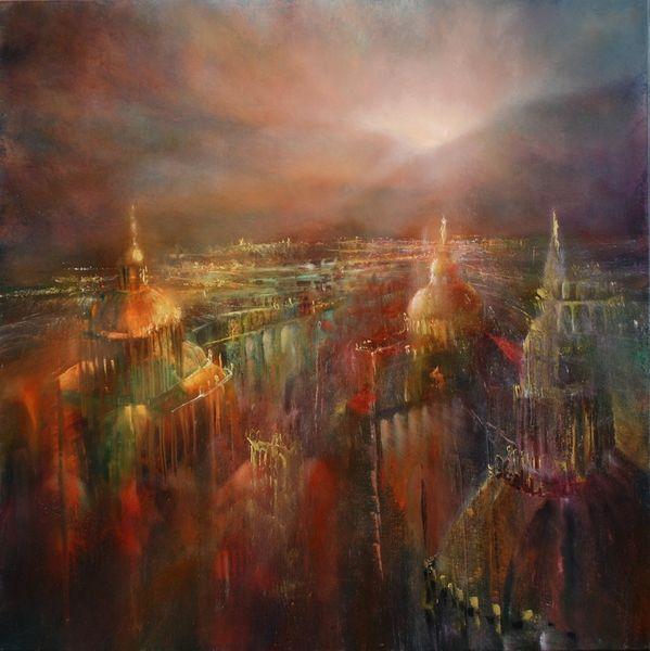 Sonnenaufgang, Rom, Skyline, Kirche, Sonne, Hügel
