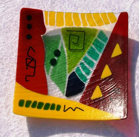 Schale, Glas, Gefust, Glasschale, Kunsthandwerk