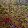 Pflanzen, Herbstlaub, Landschaft, Malerei