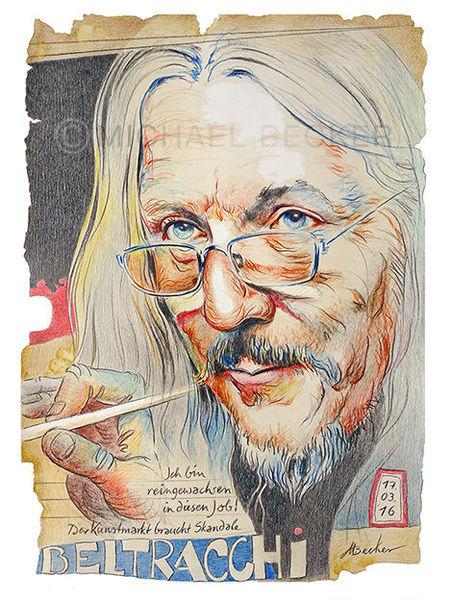 Fälschung, Portrait, Imitation, Zeichnung, Buntstiftzeichnung, Zeichnungen