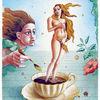 Haare, Tasse, Geburt, Venus