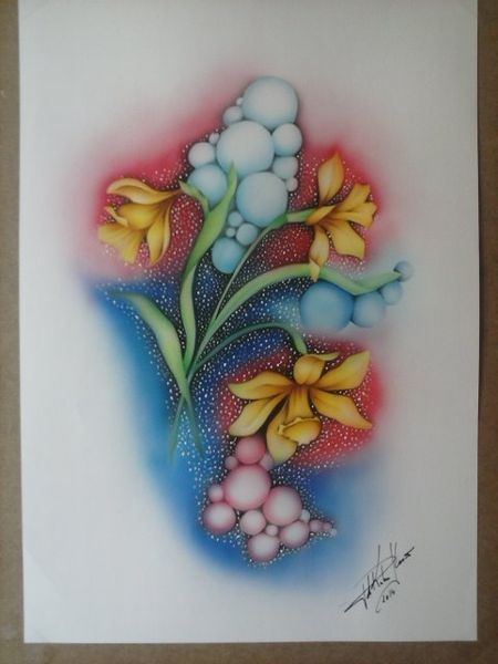 März, Blumen, Märzenbecher, Modern, Frühling, Realismus