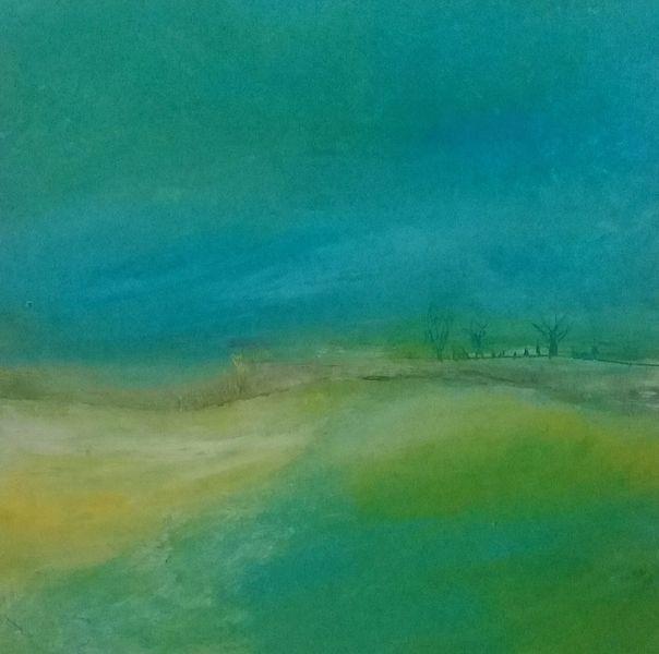 Landschaft, Gefühl, Harmonie, Malerei