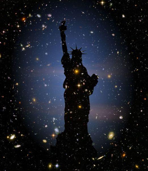 Liberty, Universum, Traum, Sehnsucht, Freiheit, Kitsch