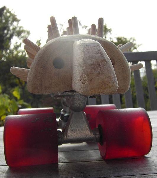 Rotradigel, Prototyp, Erlkönig, Plastik