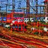 Güterzug, Reise, Zug, Verkehr