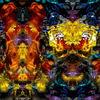 Digitale kunst, Spiegelung, Fraktalkunst, Wasser