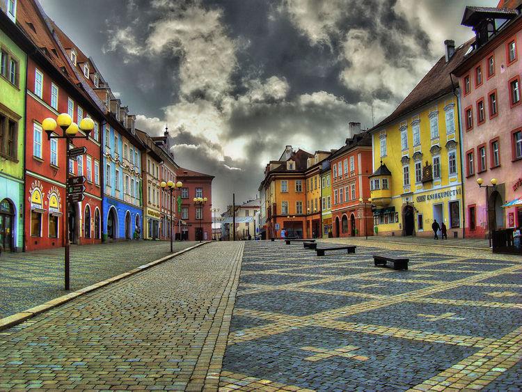 Stadt, Eger, Cheb, Fotografie