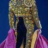 Torero, Acrylfarben, Gold, Moderne malerei