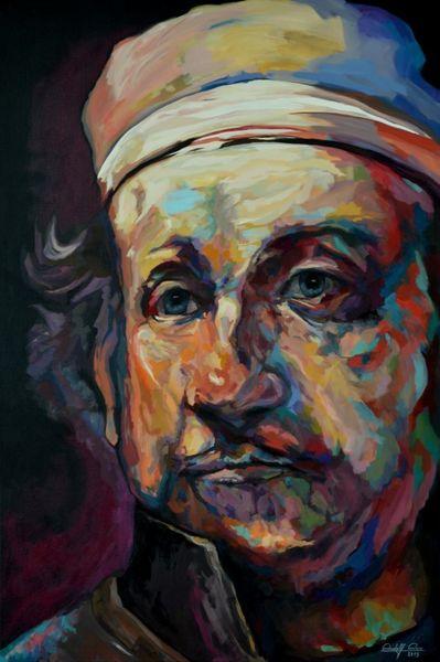 Portrait, Acrylmalerei, Gemälde, Zeitgenössisch, Malerei,