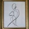 Pose, Frau, Stolz, Zeichnungen