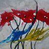 Rot, Pflanzen, Blumen, Mohn