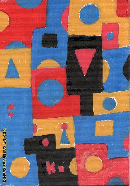 Kandinsky, Bauhaus, Farbenlehre, Johannes itten, Malerei