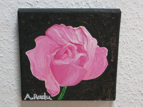 Rose, Natur, Blumen, Malerei