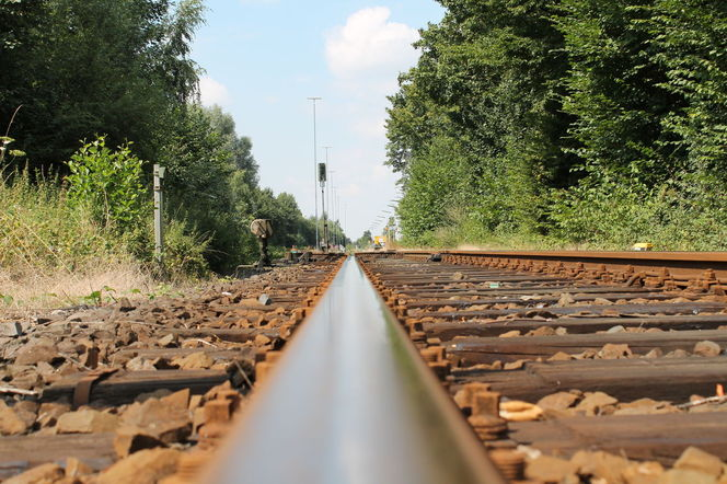Bahn gleise, Schiene, Lokomotive, Fotografie