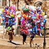Farben, Landschaft, Frauenkirche, Luftballon