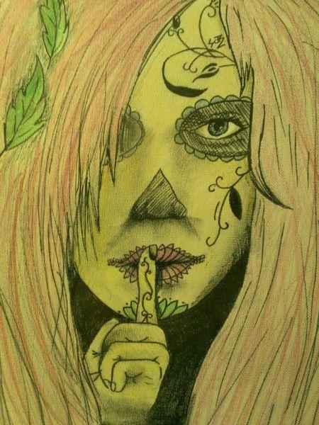 Zeichnungen, Geheimnis, Natur