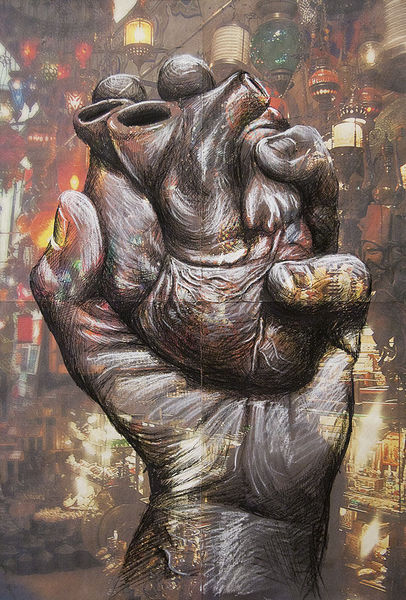 Hand, Liebe, Menschen, Herz, Illustrationen, Architektur mensch