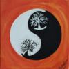 Ying, Yang, Orange, Baum