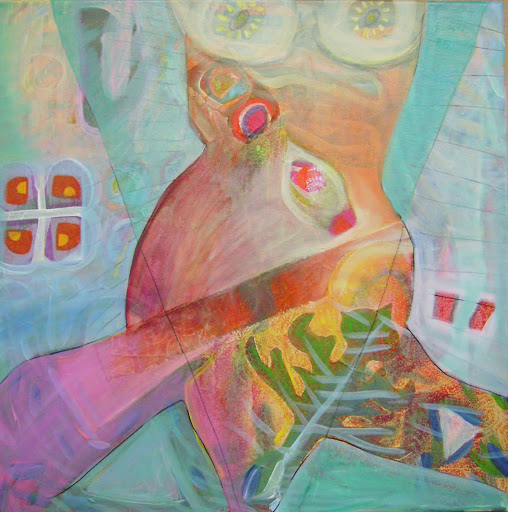 Weiblich, Malerei, Acrylmalerei