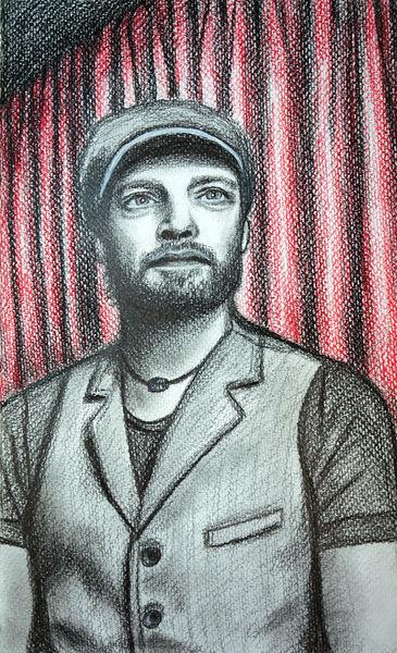 Bruder, Portrait, Mann, Zeichnungen