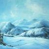 Wolken, Himmel, Winter, Berge
