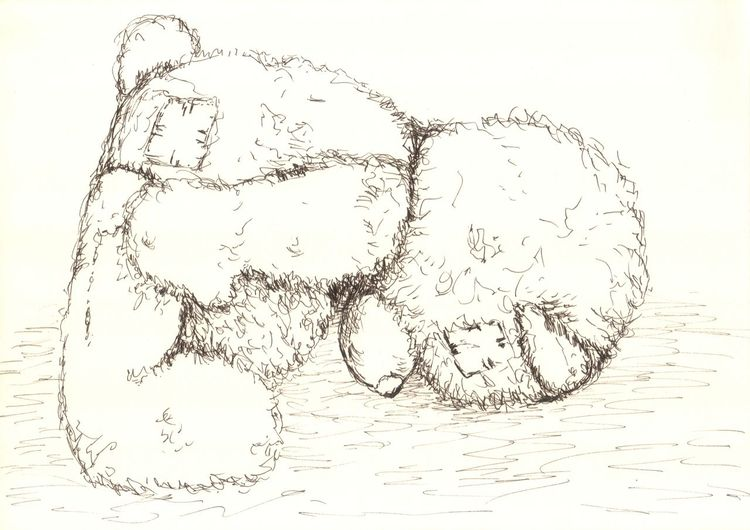 Müde, Kuscheltier, Erschöpft, Kinder, Traurig, Bär