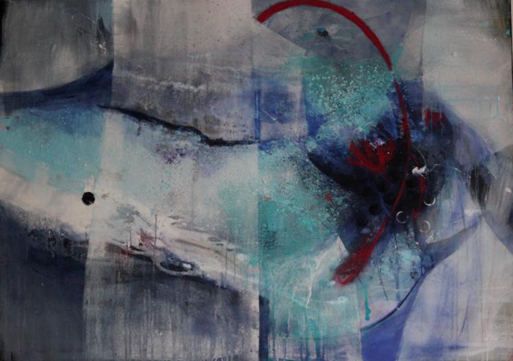 X120, Acrylmalerei, Malerei, 2015,
