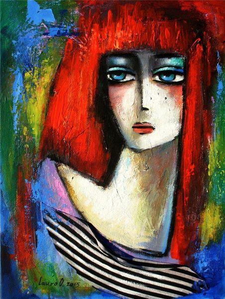 Ölmalerei, 30x40 cm, Acrylmalerei, Malerei,