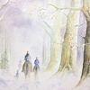 Weihnachten, Stimmung, Geheimnisvoll, Wald