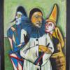 Clown, Maske, Venedig, Malerei