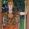 Portrait, Acrylmalerei, Malerei