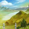 Landschaft, Wolken, Licht, Tropfen