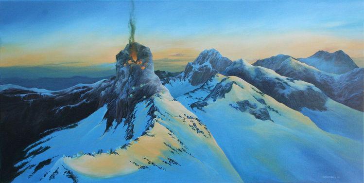 Malerei, Vulkan