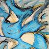 Tiere, Malerei, Pelikan