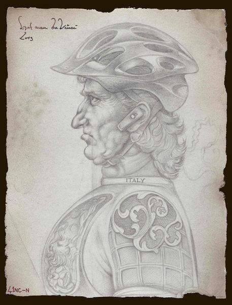 Selbstportrait, Retro, Leonardo da vinci, Renaissance, Realismus, Zeichnungen