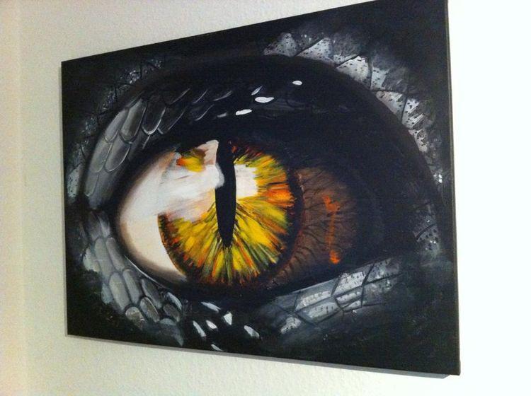Drachen Auge
