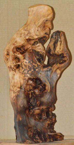 Heiliger, Skulptur, Abstrakt, Kunsthandwerk