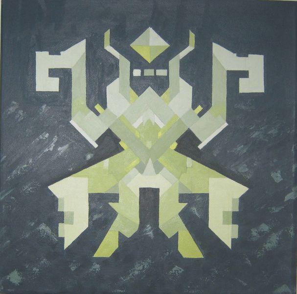 Malerei, Ölmalerei, Etno, Pop art,