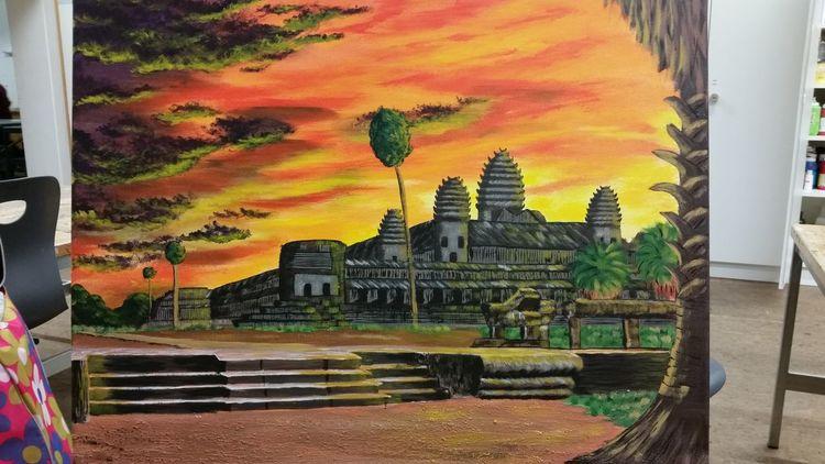 Tempel, Gebäude, Angkor, Unesco, Kambodscha, Weltkulturerbe