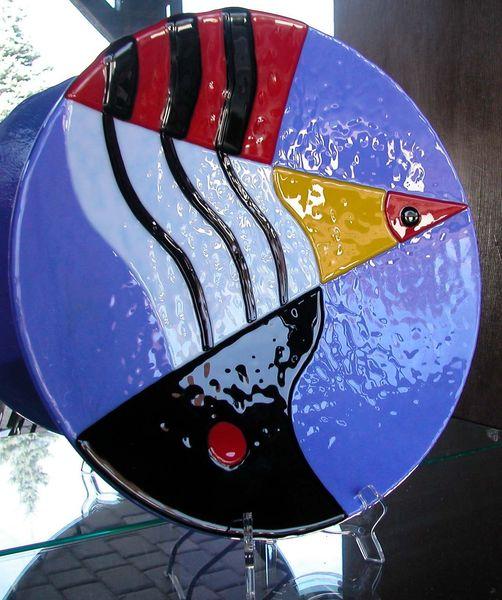 Abstrakt, Glas, Design, Bunt, Modern, Schale