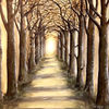 Landschaftsmalerei, Natur, Ruhig, Akarde