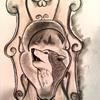 Wolf bild skizze, Zeichnungen